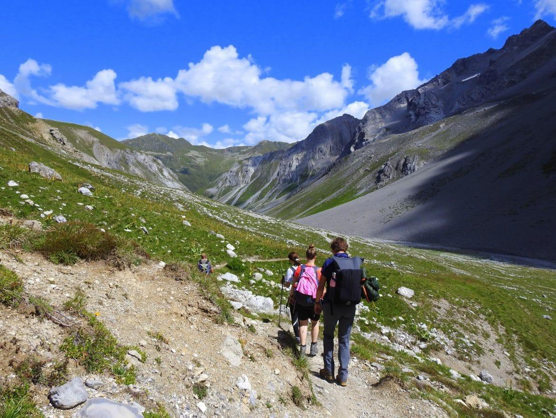 Walserweg - Abstieg ins Ducantal