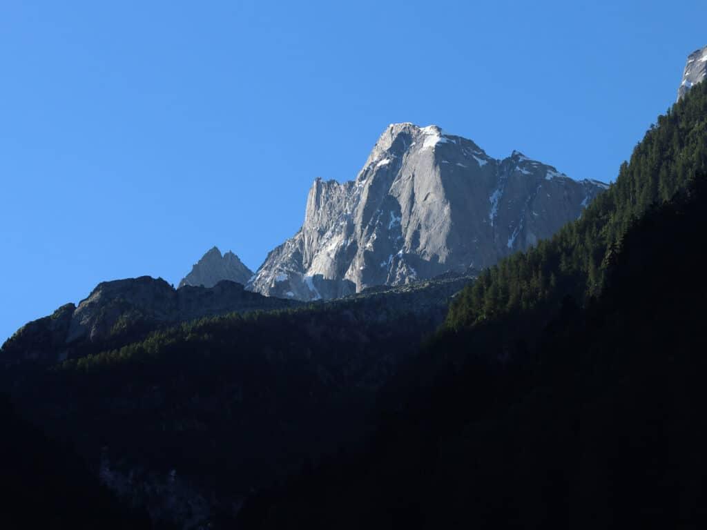 BergaufBergab - Der Piz Cengalo thront hoch über dem Bondascatal