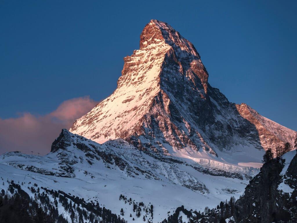 Bergwelten - Matterhorn im Abendlicht