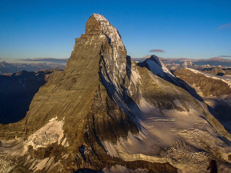 Bergwelten - Matterhorn mit seiner Nordwand