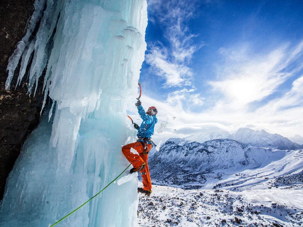 Bergwelten - Eisklettern in Trentino