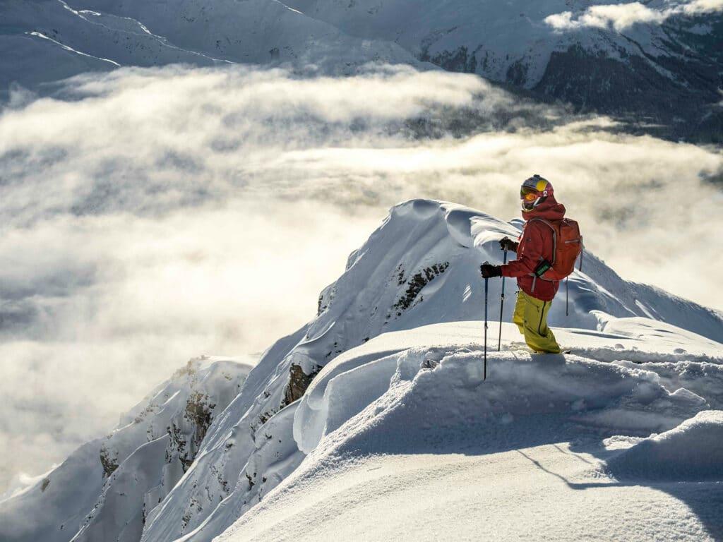 Bergwelten - Nadine Wallner am Arlberg
