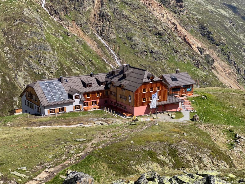 Oesterreich - Tirol - Oetztaler Alpen - Taschachhaus