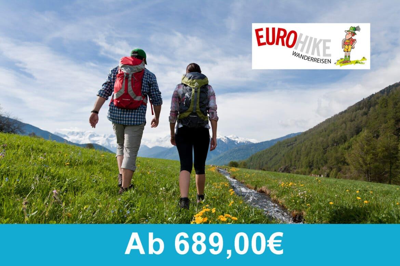 Eurohike - Garmisch - Meran 2021