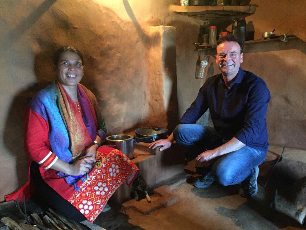 Georg Kraus Stiftung - Ofenmacher in Nepal