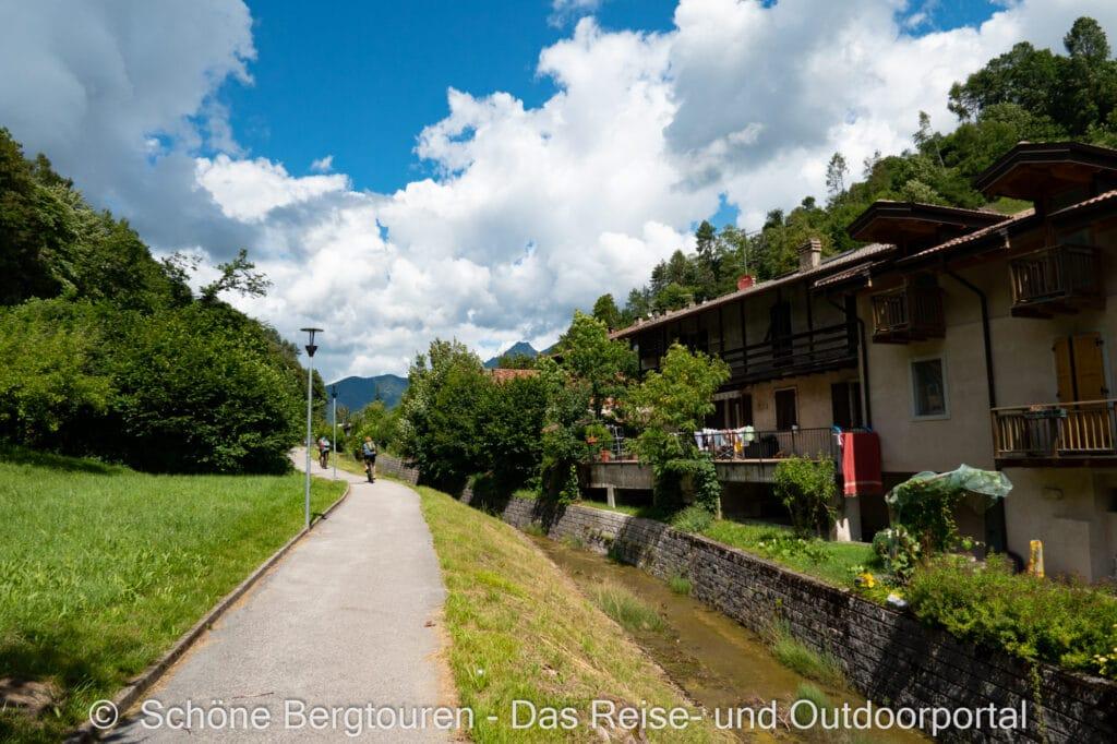 Wohnmobiltour Trentino - Molina di Ledro