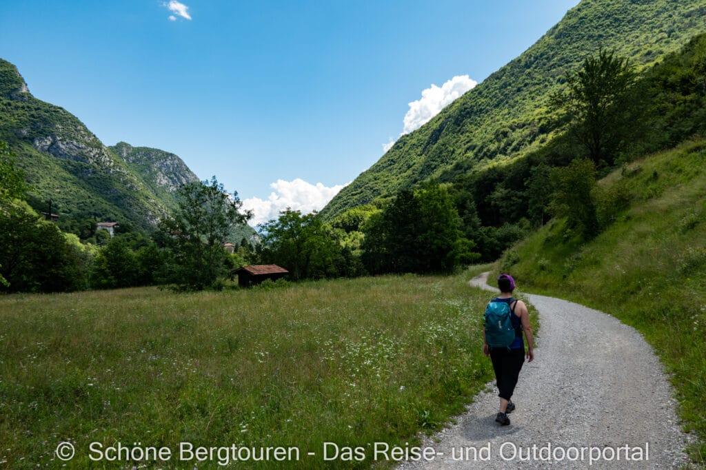 Wohnmobiltour Trentino - Wanderung
