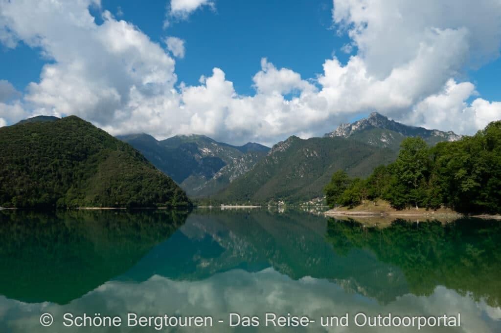 Wohnmobiltour Trentino - Ledrosee im Trentino