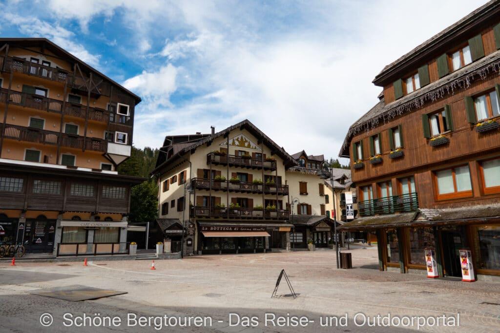 Wohnmobiltour Trentino - Madonna di Campiglio