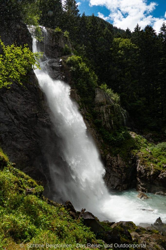 Wohnmobiltour Trentino - Cascate del Lares