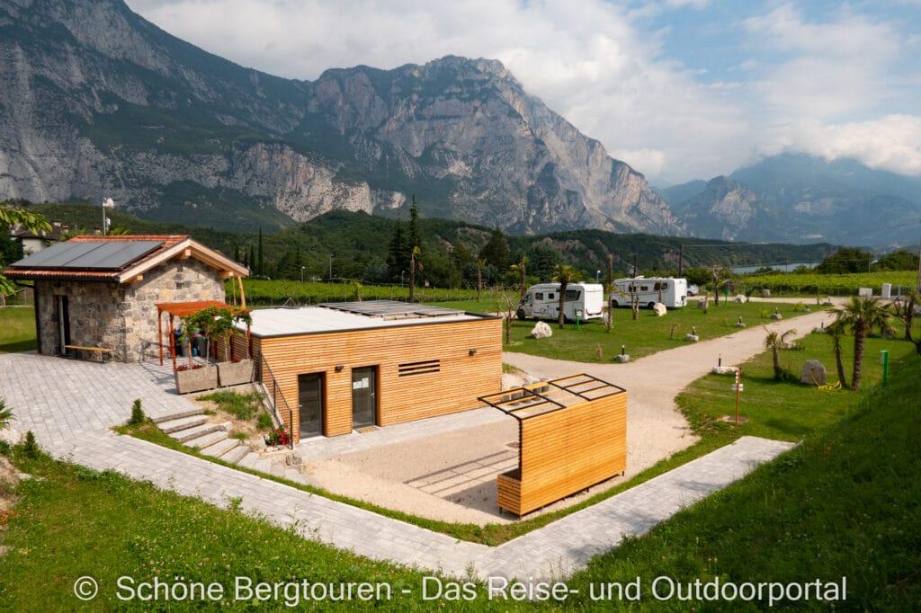 Wohnmobiltour Trentino - Camping le Marocche