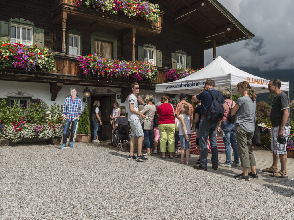 Region Wilder Kaiser - Filmwanderung Ellmau