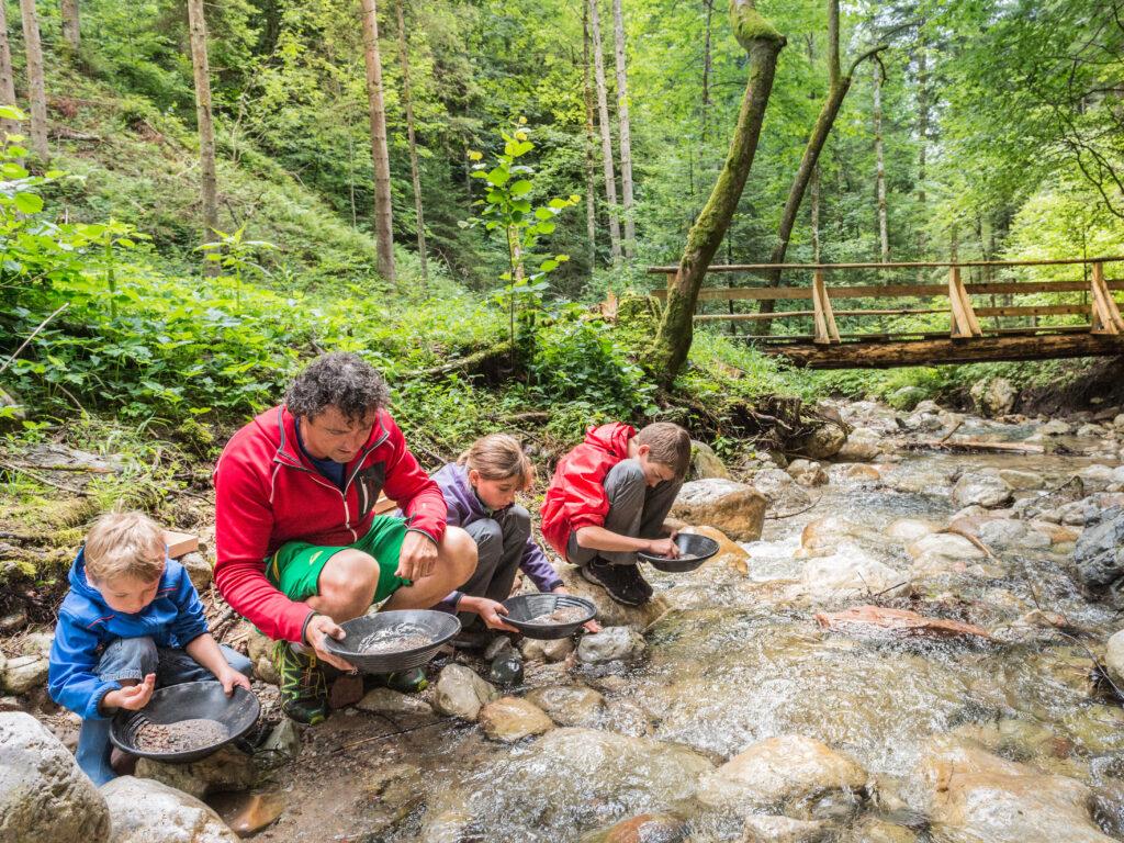 Region Wilder Kaiser - Goldwaschen und Abenteuer