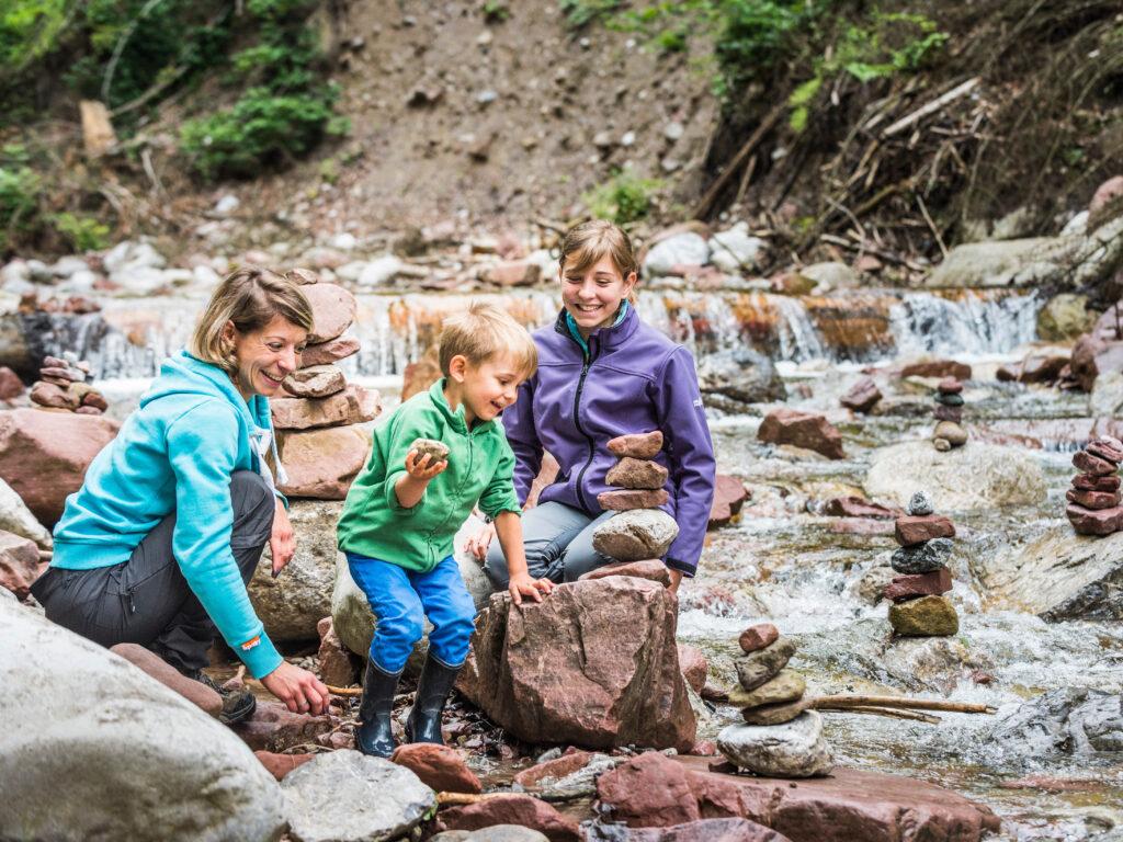 Region Wilder Kaiser - Rehbachklamm mit Kindern