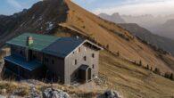 Tölzer Hütte (1.825 m Höhe)